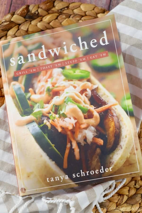 An overhead photo of the book Sandwiched by Tanya Schroeder
