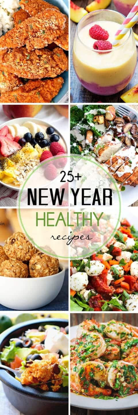 Healthy New Years Recipes to start your year off right!
