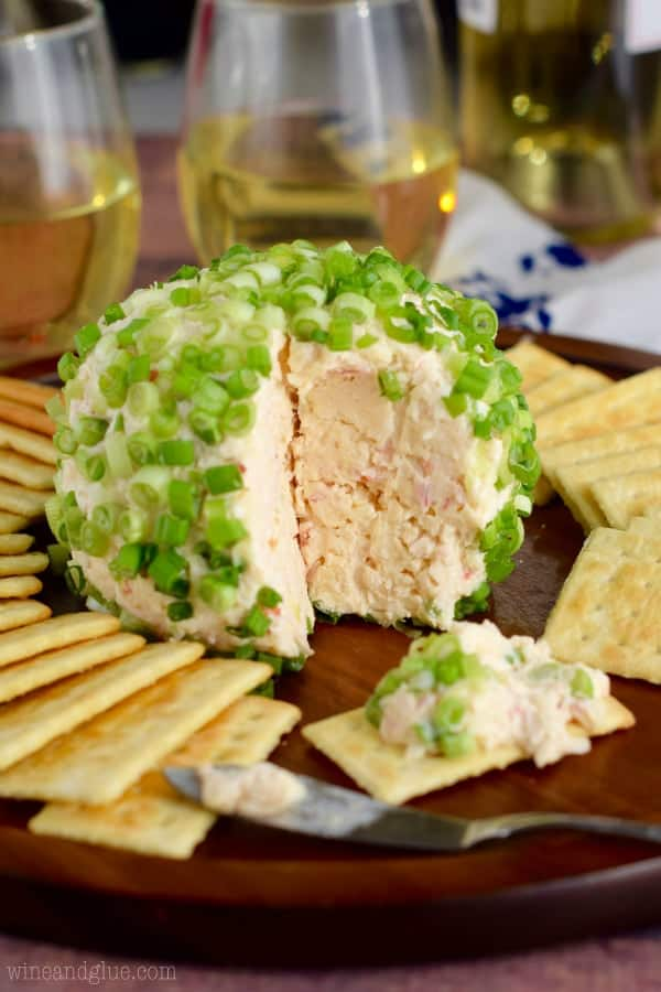Crab Dip Cheeseball