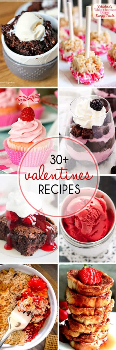 More than 30 Valentines Day Desserts to help you celebrate with the ones you love!
