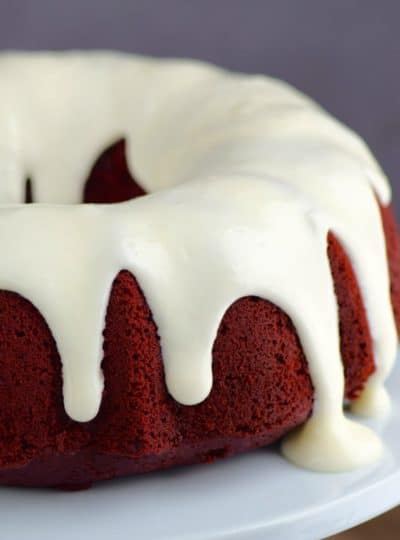 Red Velvet Sour Cream Bundt Cake