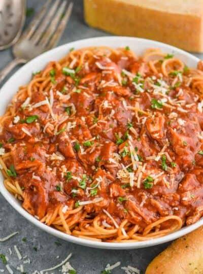 Chicken Spaghetti Recipe