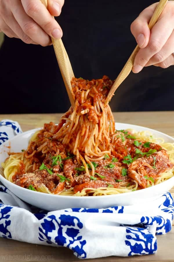 This French Spaghetti is not just a fast and easy dinner, it's going to become your all time favorite spaghetti dinner ever!
