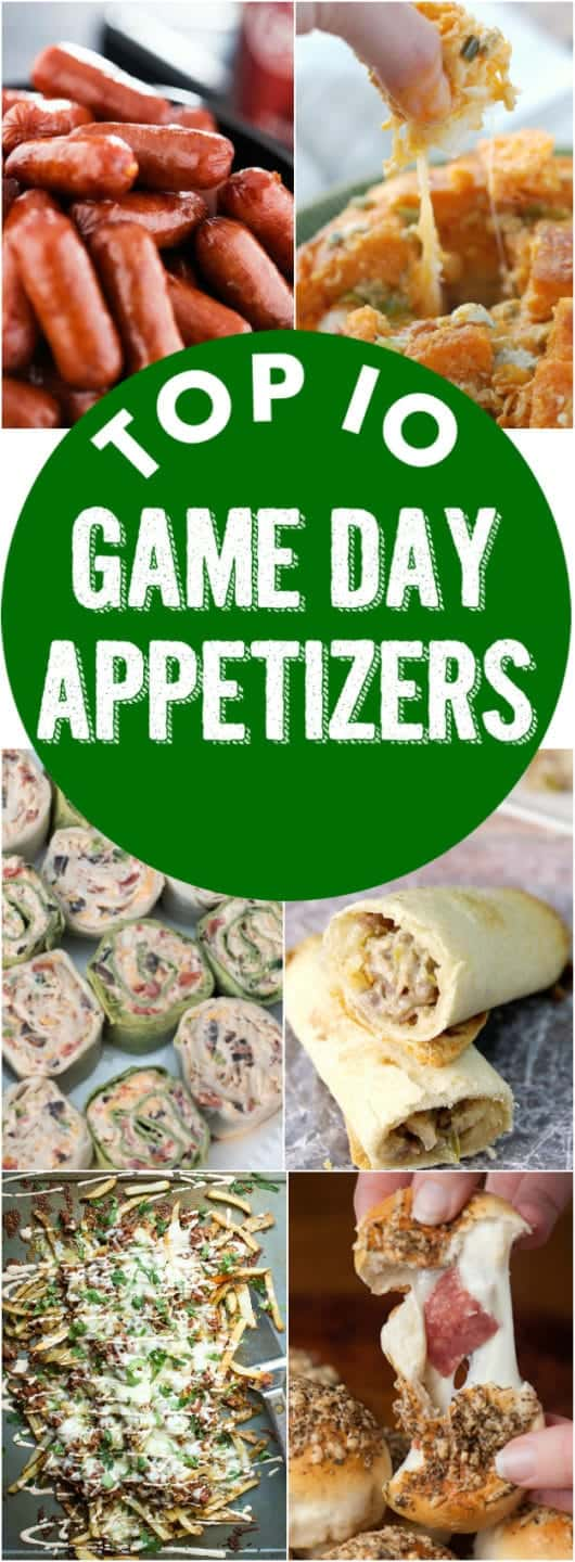Top 10 Game Day Appetizers