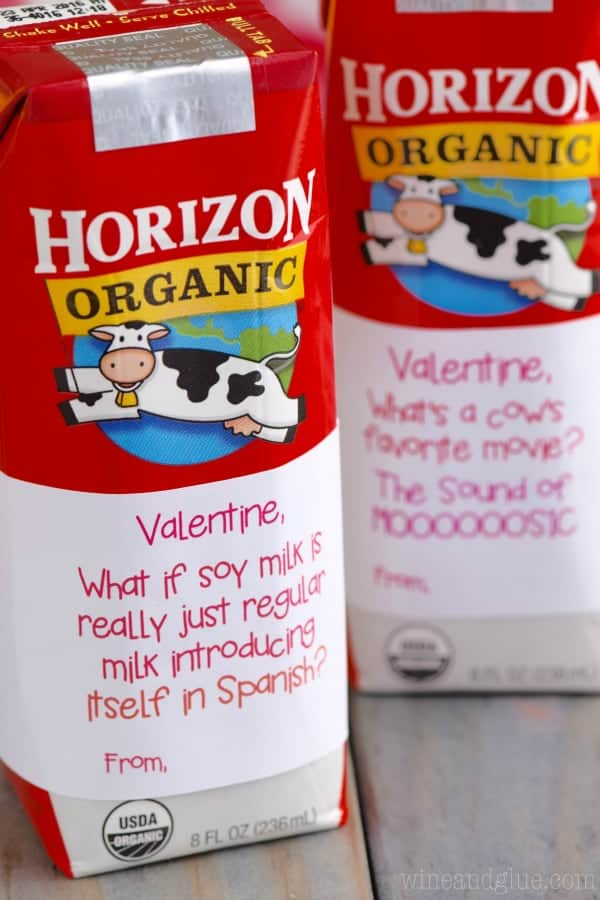 Free Valentine Milk Box Printables!