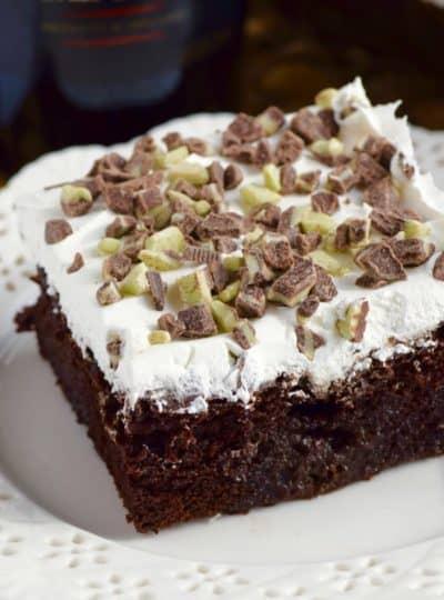 Baileys Poke Cake