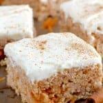 Carrot Cake Rice Krispies Treats