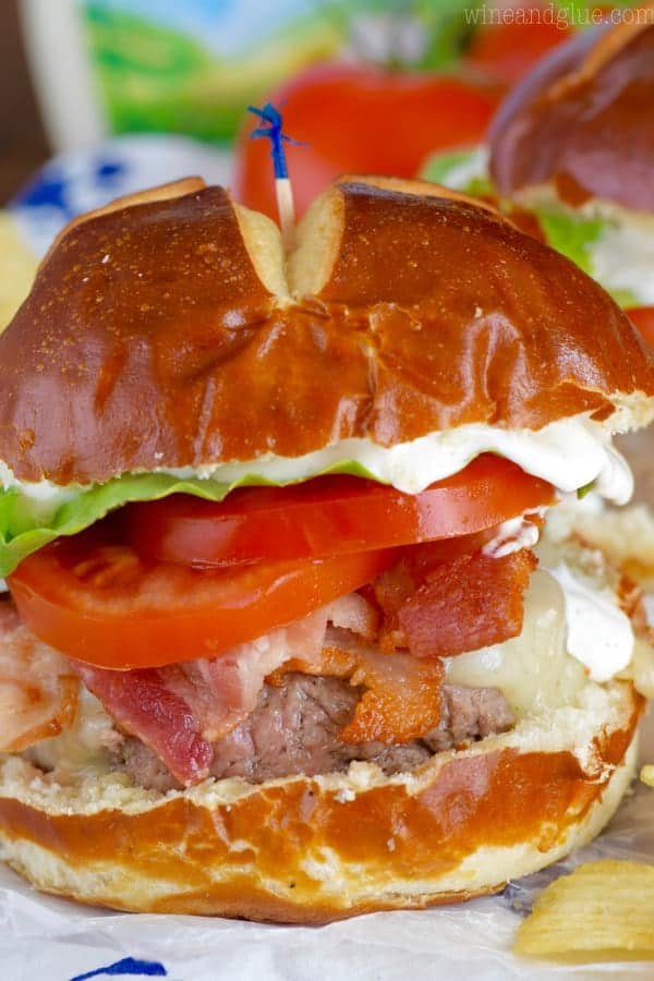 These BLT Ranch Burgers are ridiculously simple to make, but so packed with flavor and so good!