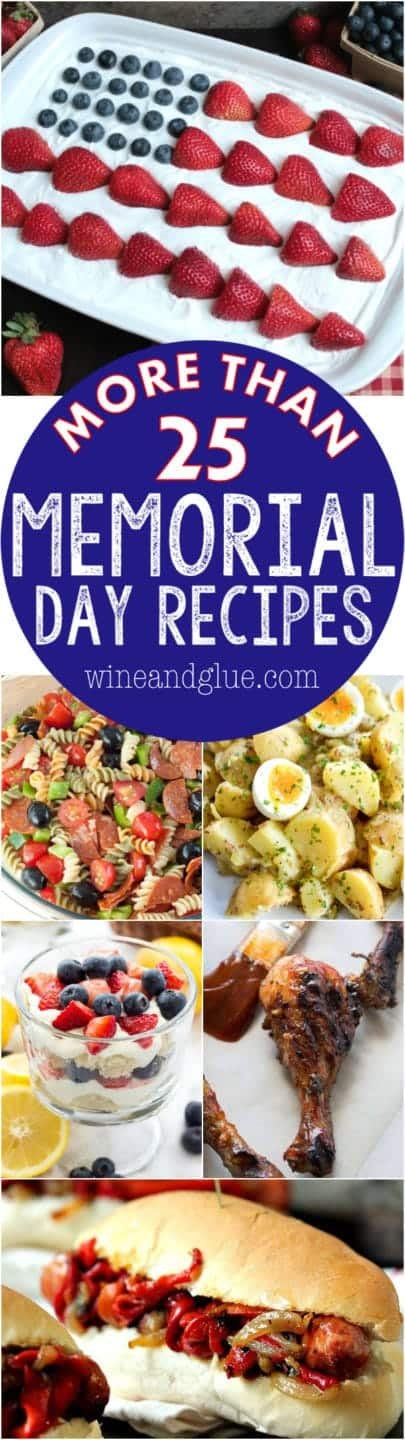 More than 25 Memorial Day Recipes!