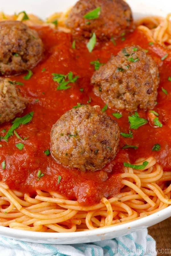 The Best Italian Meatballs Wine Amp Glue