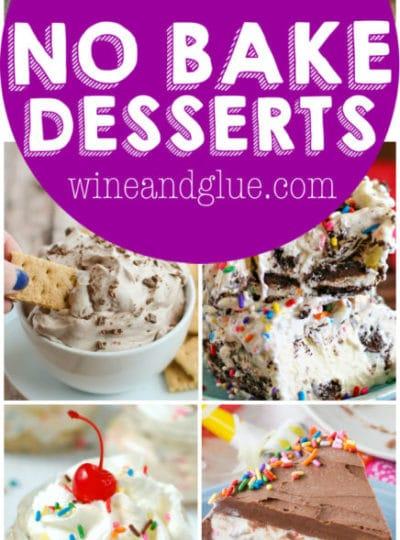 More than 25 No Bake Desserts