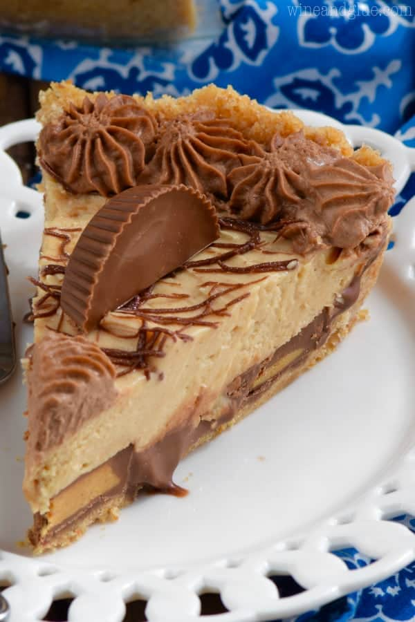 Peanut Butter Cup Pie - Wine & Glue
