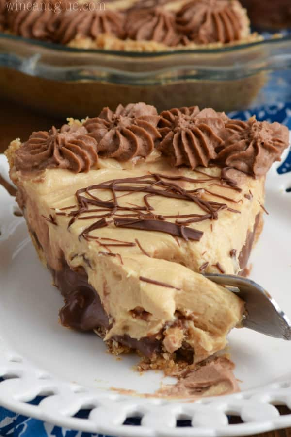 This Peanut Butter Cup Pie is layer upon layer of absolute ...