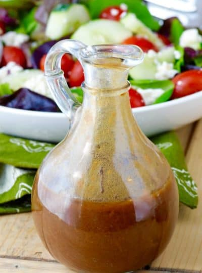 Perfect Balsamic Dressing