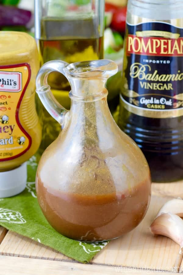 This Perfect Balsamic Dressing comes together in minutes and is delicious!