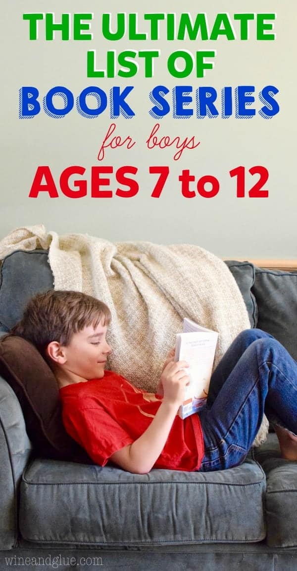 Must Read Book Series for Boys Aged 7 to 12