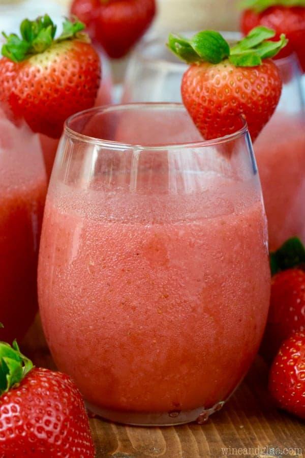 Strawberry Daiquiri Sangria