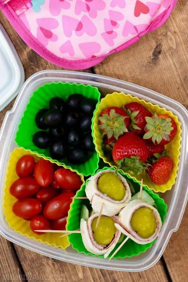 These Salami Pickle Rolls make for such a fun and easy lunch that your kiddos will love!
