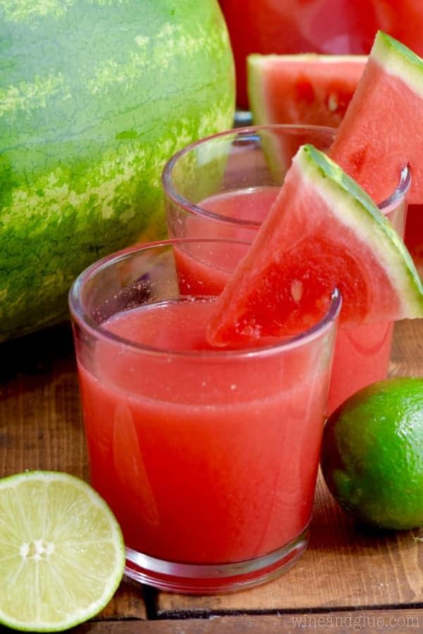 Watermelon Limeade - Wine & Glue