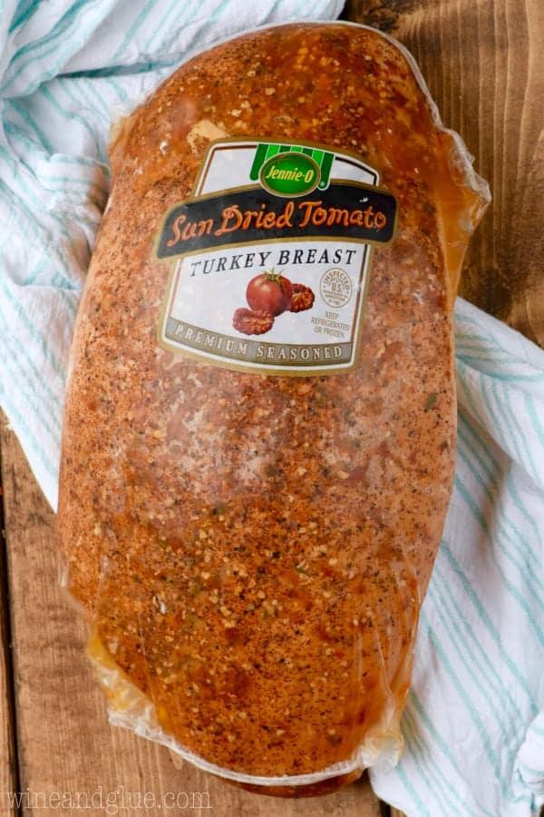 A picture of Jennie-O's Sun Dried Tomato Turkey Breast.