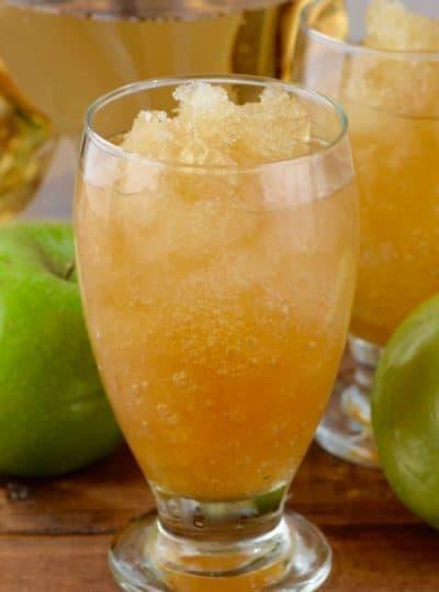 Apple Brandy Slush