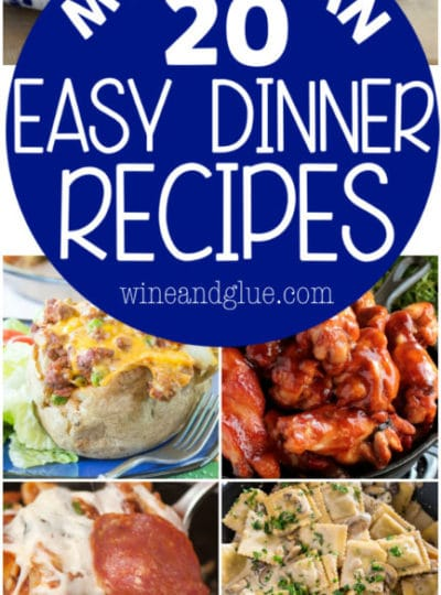 More Than 20 Easy Dinner Recipes