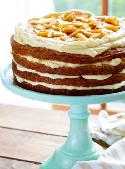 Naked Apple Spice Cake