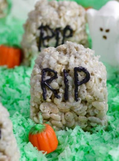 Rice Krispies Treat Graveyard