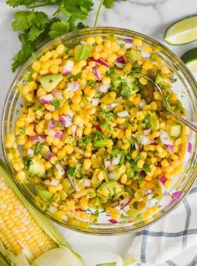 The BEST Corn Salsa Recipe