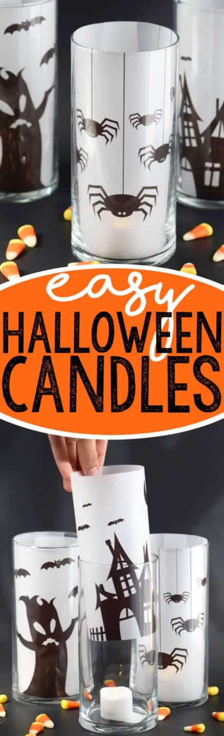 This Easy Halloween Decoration is so super simple to put together! Grab the free prints!