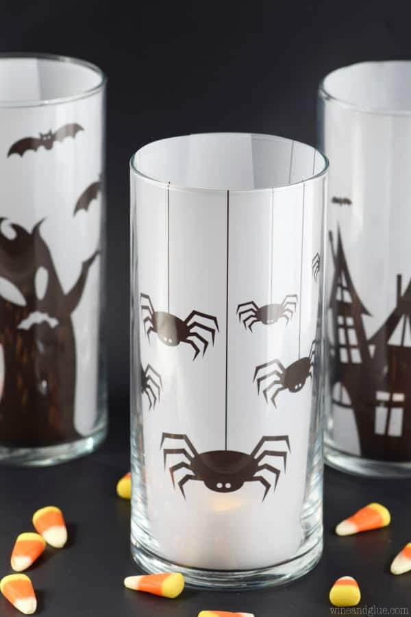 Easy Halloween Decoration: Spooky Candles