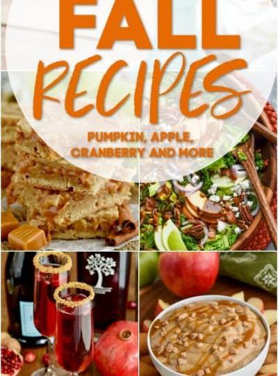 More Than 20 Fall Recipes
