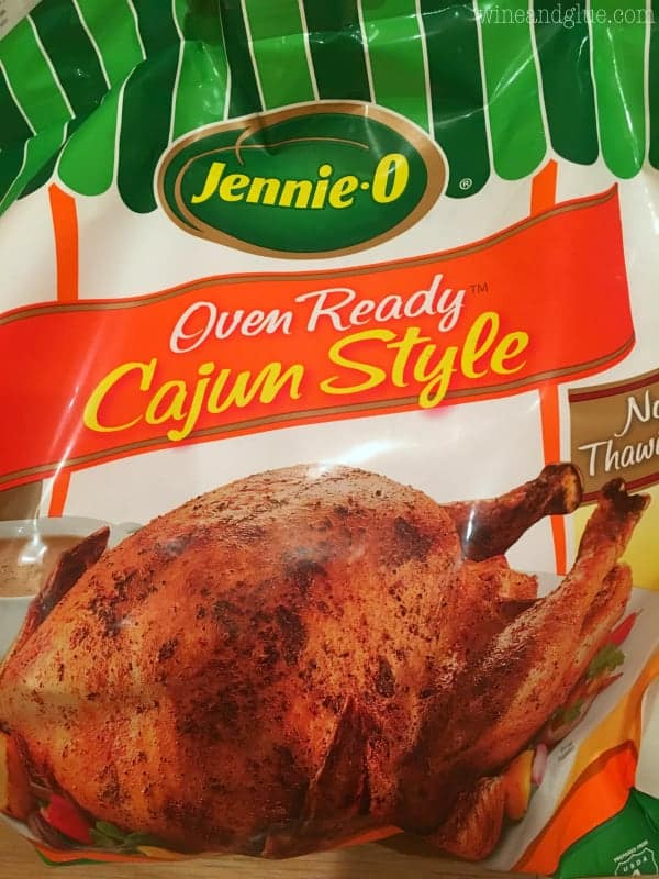 A picture of Jennie-O's oven ready Cajun Style
