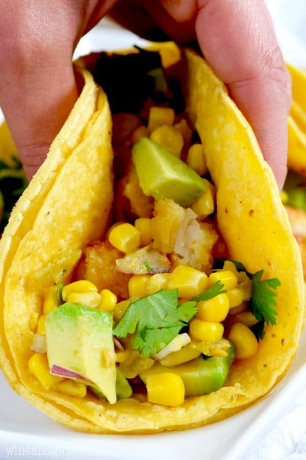 These Shrimp Tacos are so crazy easy to make and irresistible that they make for a perfect weeknight meal!