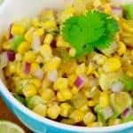 The BEST Corn Salsa