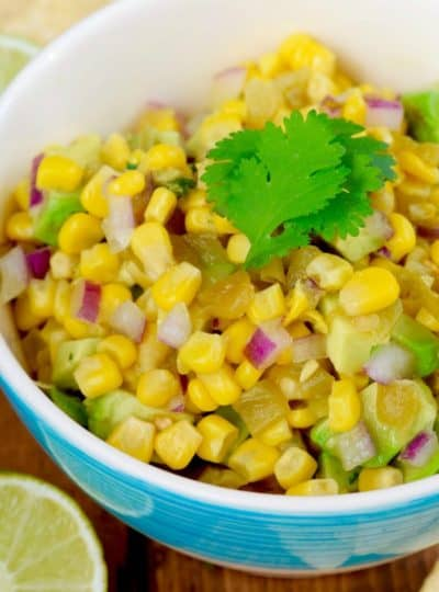 The BEST Corn Salsa