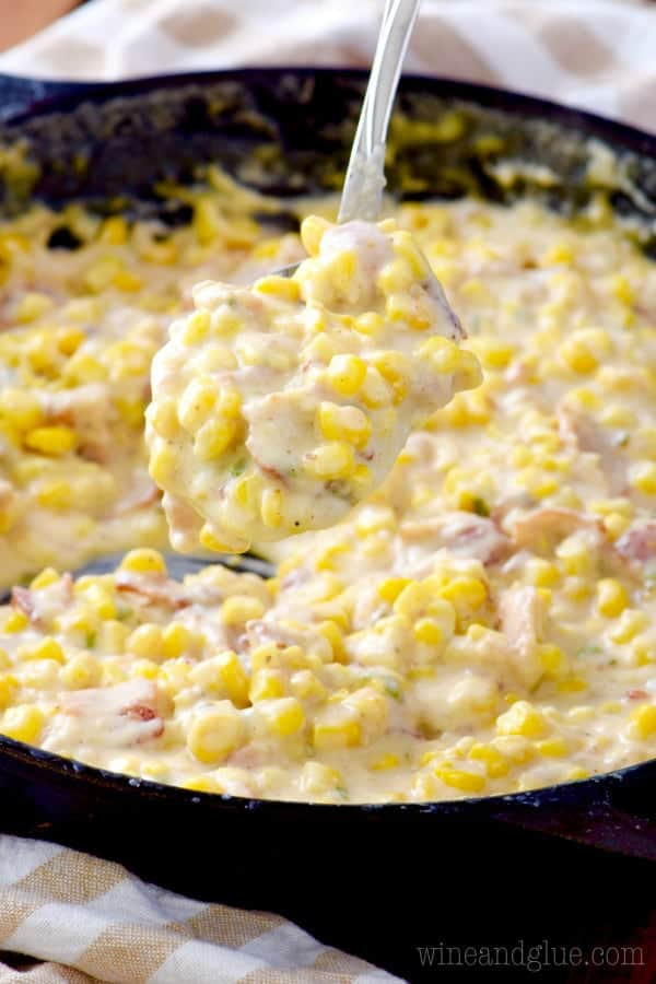 Bacon Jalapeño Creamed Corn