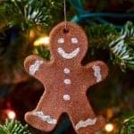 Gingerbread Man Christmas Ornaments