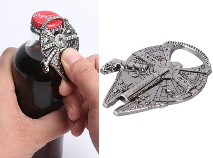 Millenium Falcon Metal Bottle Opener