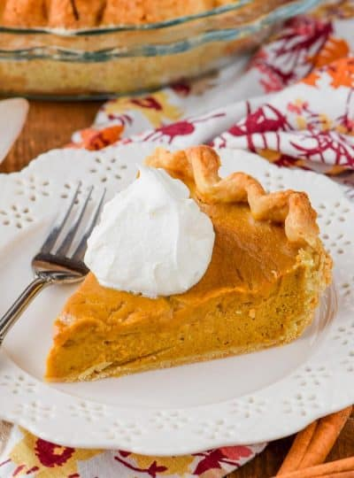 Perfect Pumpkin Pie From Scratch