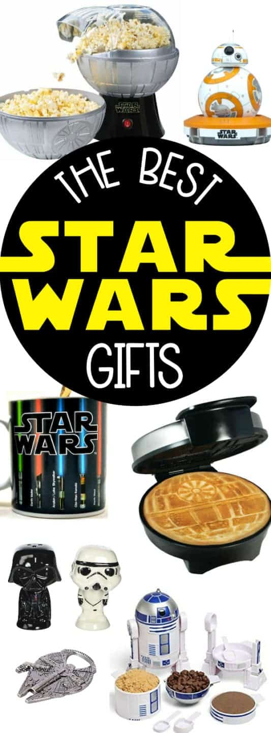 These are THE BEST Star Wars Gifts! Seriously so many great ideas!