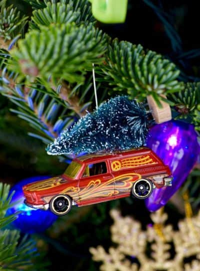 Matchbox Car Ornaments