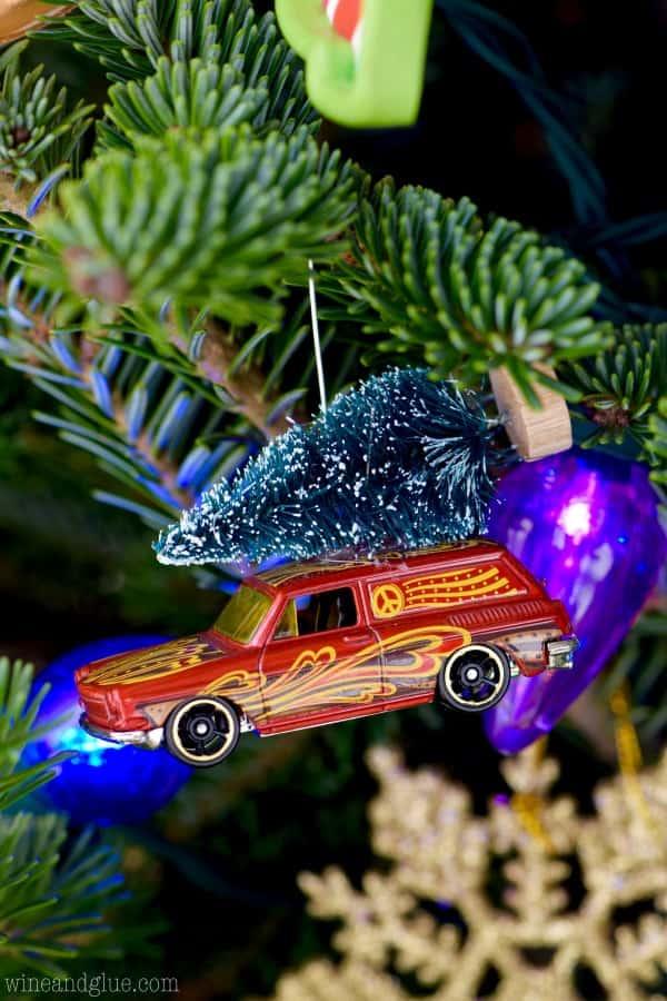 Matchbox Car Ornaments Wine Amp Glue