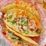 Buffalo Baked Tacos