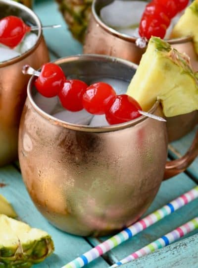 Tropical Moscow Mules