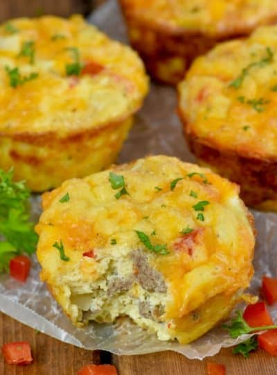 Cheese and Sausage Egg Muffins