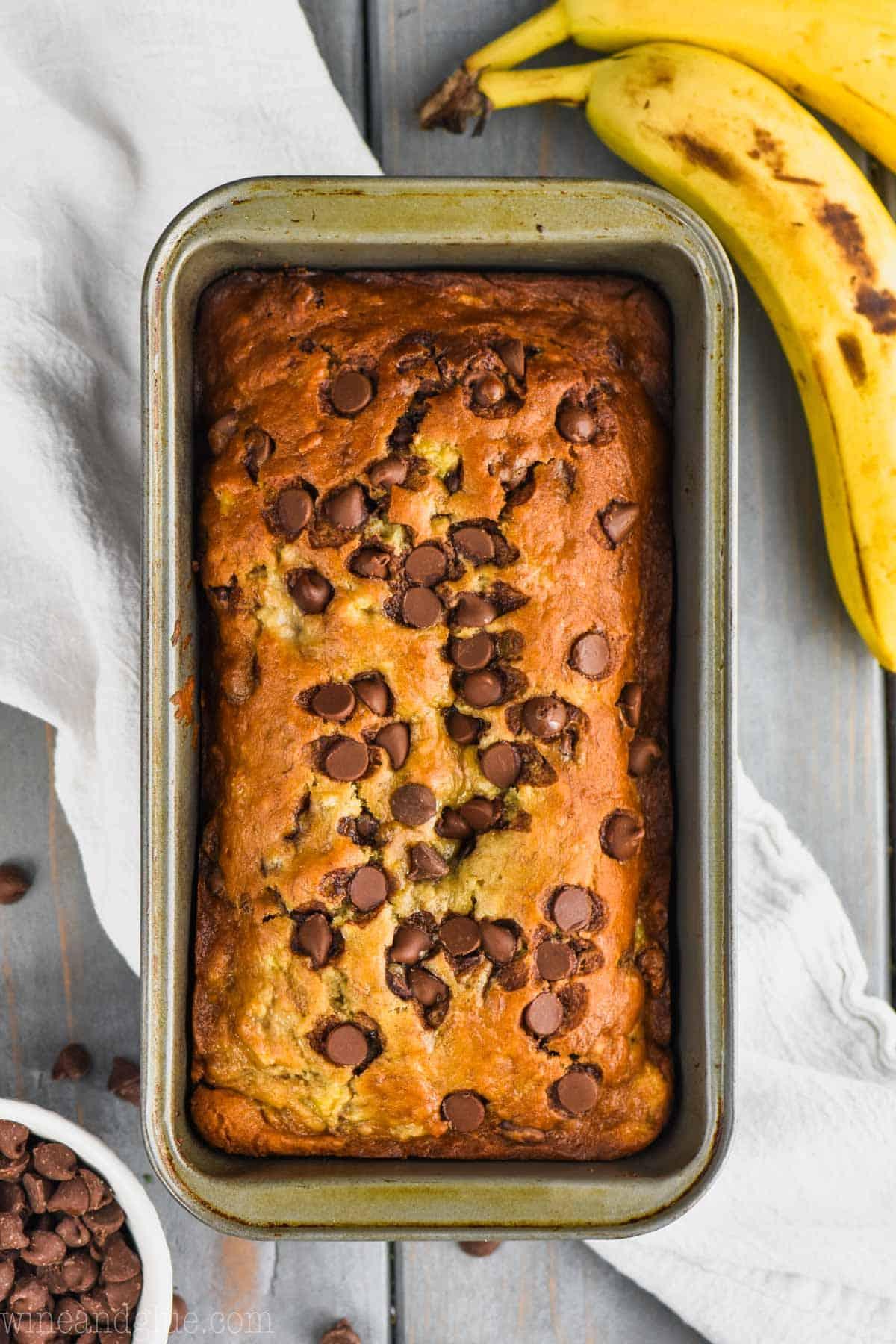 The Best Chocolate Chip Banana Bread Recipe