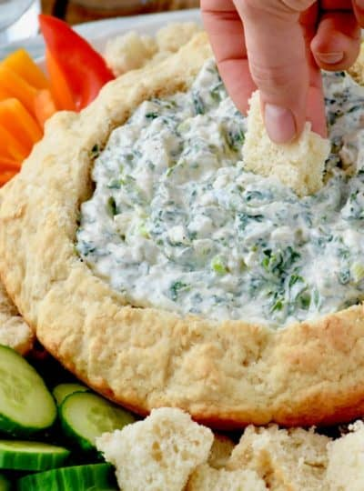 How to make a Beer Bread Dip Bowl
