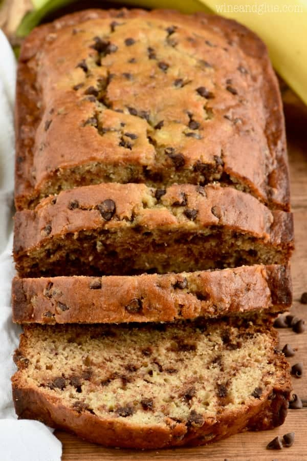 The best chocolate chip banana bread wine glue this is the best chocolate chip banana bread it comes together fast and will become forumfinder Image collections