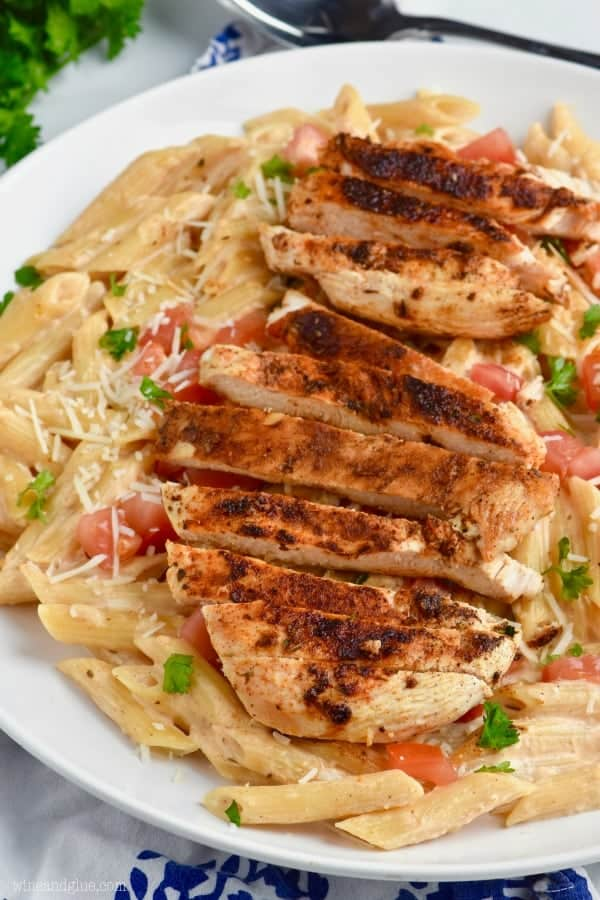 Creamy Cajun Chicken Pasta Comes Together So Fast This Easy Dinner Recipe Is The